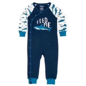 "👶🏻Hatley 12 mo ""feed me"" pajamas worn once"